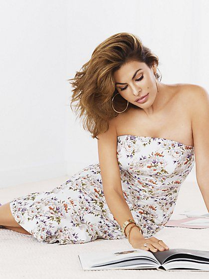 0061c05d9333 Eva Mendes Collection - Ivy Strapless Dress - New York & Company