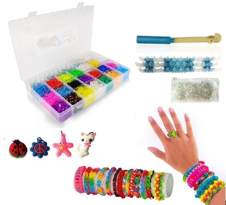colorful loom rainbow rubber love watch no bands mom hook forks youtube i bracelet with diy