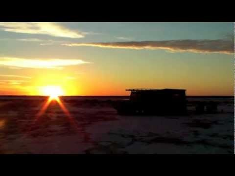 Gordigear - Lake Eyre and Birdsville Track in an FJ45 Toyota Landcruiser Troopcarrier - YouTube