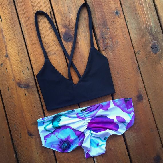 Cea Havana Full Coverage Cheeky Bikini bottoms by CeaBikinis