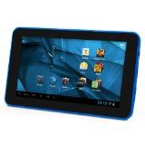 D2 7-Inch Android 4.1 Jelly Bean/ 4GB/512MB DDR3/16:9 Capacitive Multi-Touch Screen Internet Tablet with One Pre-loaded Family Movie - Blue