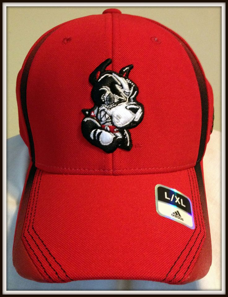 BOSTON UNIVERSITY TERRIERS ADIDAS CLIMALITE ADULT L/XL FOOTBALL CAP FREE SHIP #adidas #BostonUniversity