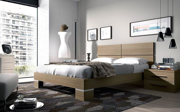 Dormitorio moderno (237 – D3) - Muebles CASANOVA