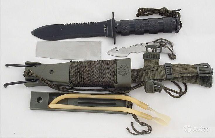 Нож для выживания Аллигатор-2 НК5696 - купить нож с пилой на обухе в Москве