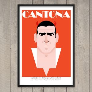 Image of Eric Cantona 20 years