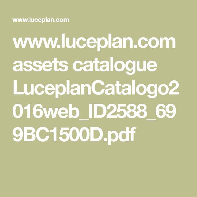 www.luceplan.com assets catalogue LuceplanCatalogo2016web_ID2588_699BC1500D.pdf