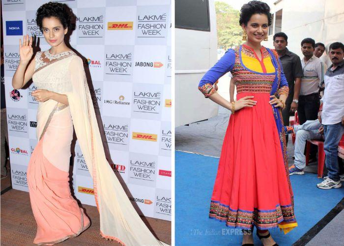 #celeb #fashion #kurtachuridar #saree #sari