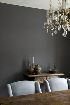 Persian grey wall paint