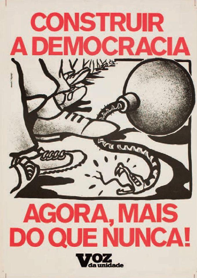 Passado e presente: os cartazes de protesto