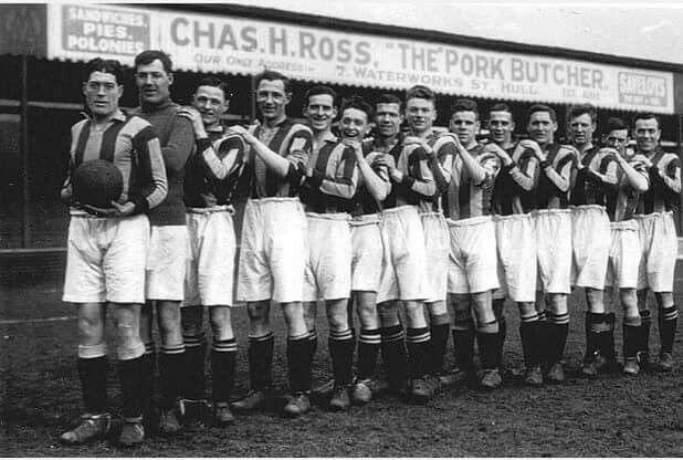 Hull City 1929/30 FA Cup squad