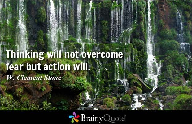 Best 25+ Overcoming Fear Quotes Ideas On Pinterest