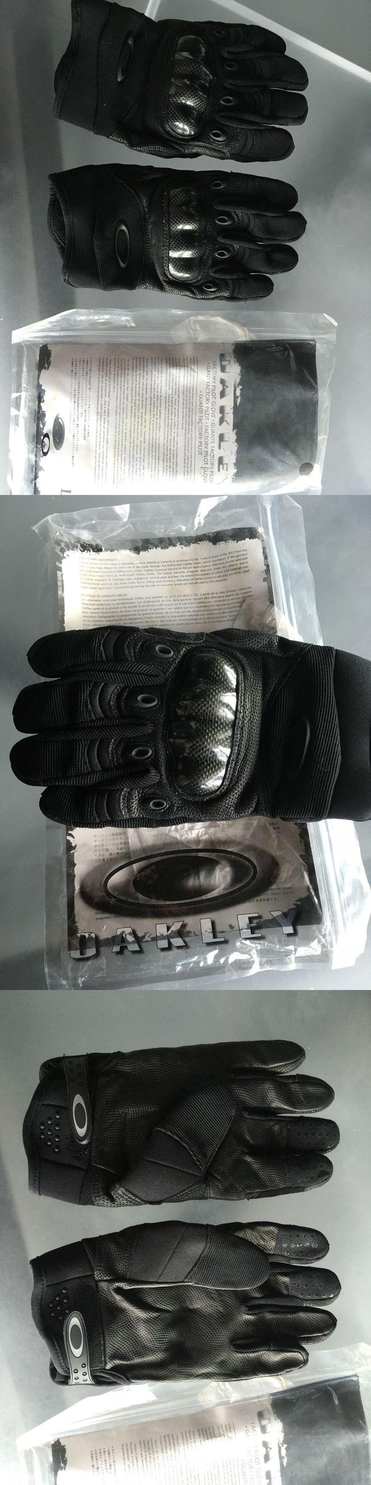 oakley tactical gloves review hckc  Tactical Gloves 177898: New Oakley Factory Pilot Tactical Gloves Black  Large L Carbon Fiber