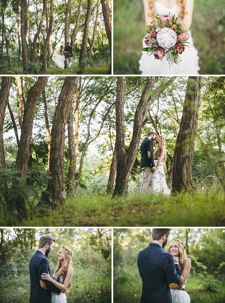 Fairy tail forest shoot with Sarah and Tom in Neiu-Bethesda #Wedding @Charles #Forest #Woods #Bride #SouthAfrica