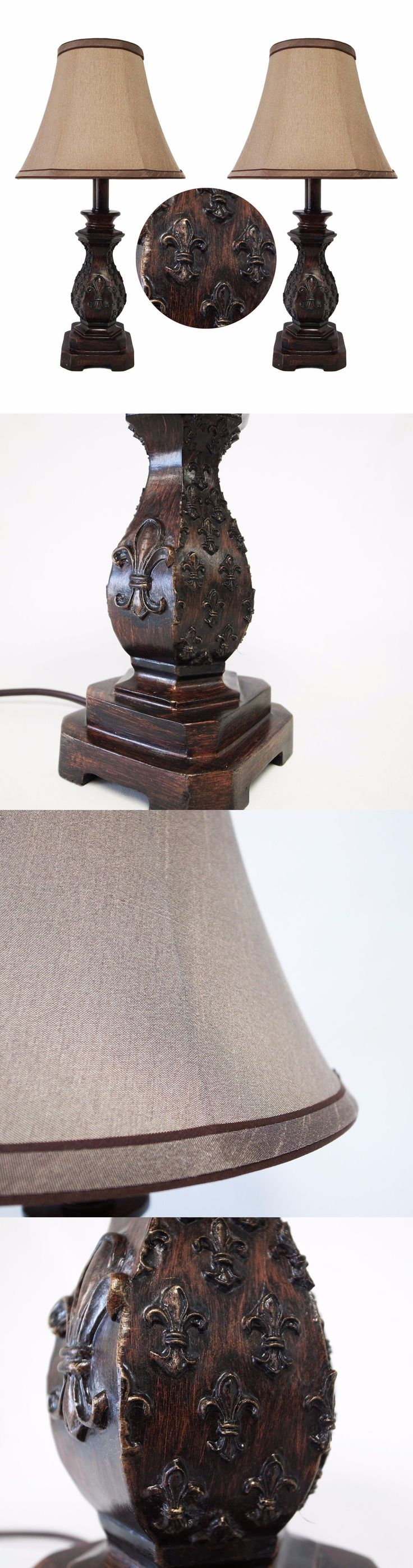 Lamps 112581: 19 H Traditional Dark Bronze Small Table Lamps Set Of 2 -> BUY IT NOW ONLY: $39.99 on eBay!