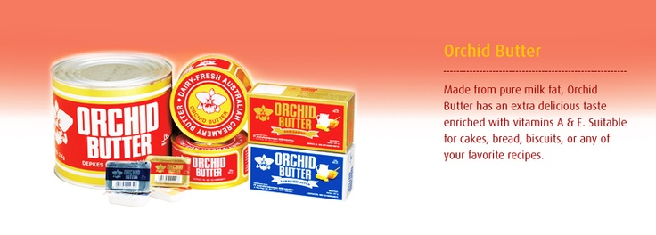 ORCHID BUTTER from Indonesia