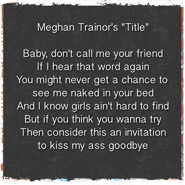 Meghan Trainor Lyric Quotes. QuotesGram