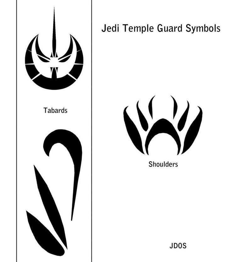 Jedi Knight Symbol Tattoo Jedi Temple Guard Symb...