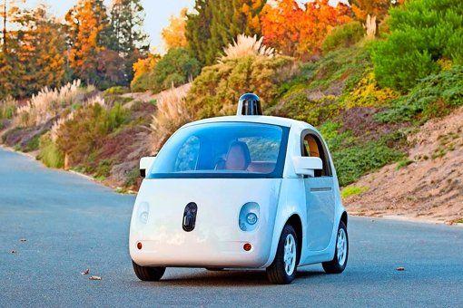 Die neue Version des Google-Autos  wurde Ende 2014 vorgestellt. Foto: dpa - #Bosch und #Conti! Im #Google-#Auto steckt #deutsche #Technik! http://www.stuttgarter-zeitung.de/inhalt.bosch-und-conti-im-google-auto-steckt-deutsche-technik.bb452b6e-4ba7-4274-ae46-ea301fed927b.html OMG,the car design is so awful!