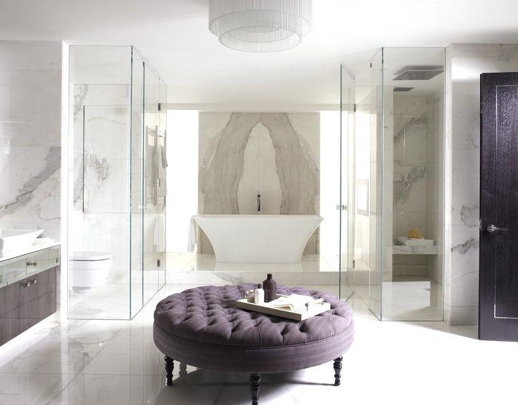 Georgian Townhouse Bathroom. Interior Design by Oliver Burns