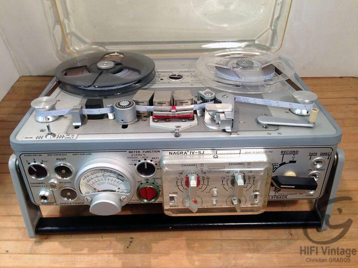 NAGRA IV SJ Magnétophone Hifi Vintage