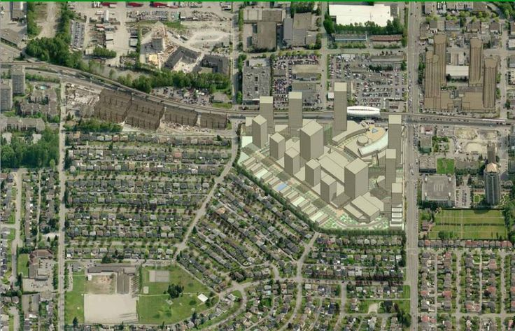 Brentwood Mall Redevelopment could see 70 storey towers. Brentwood Town Centre conceptual drawings and skyline. http://www.vancitybuzz.com/2012/08/brentwood-mall-redevelopment-tall-towers/ (Burnaby, Metro Vancouver, British Columbia, Canada)