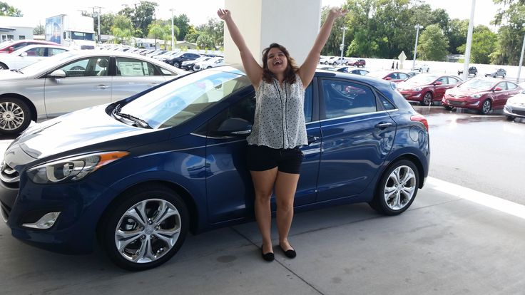 """""""Damon was very user friendly and made purchasing my daughter a new Elantra GT a positive experience."""" User Friendly is good right? Thank you Sharon Rago! We know Damon Nielsen @LakelandHyundai is very personable and knowledgeable when it comes to #Hyundai. He's even an Equus Champion and There are very few of those certifications. If we can do anything, don't hesitate to ask... we're here to help! Enjoy your new car! #LakelandHyundai #lakeland #NewCar #Cars #Elantra"""