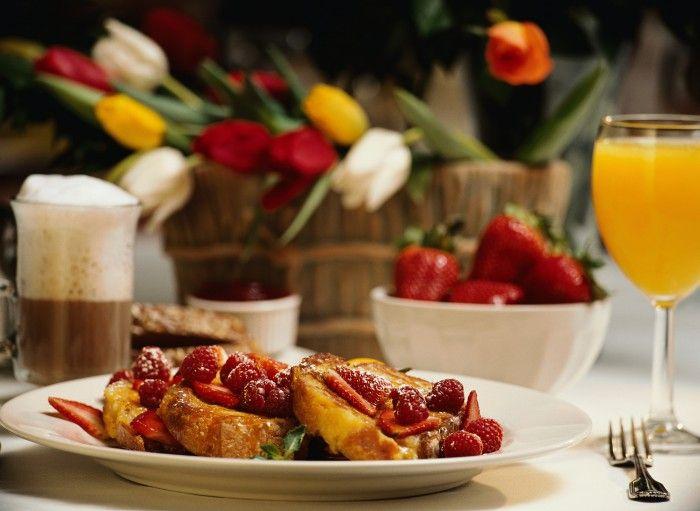 Красивый завтрак 25 фото. Украшение блюд