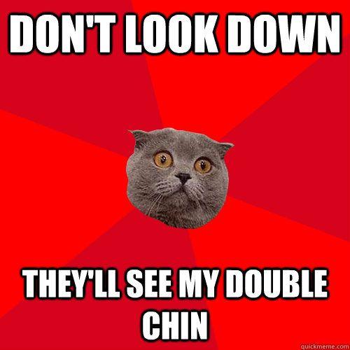 chronic anxiety cat meme-#2