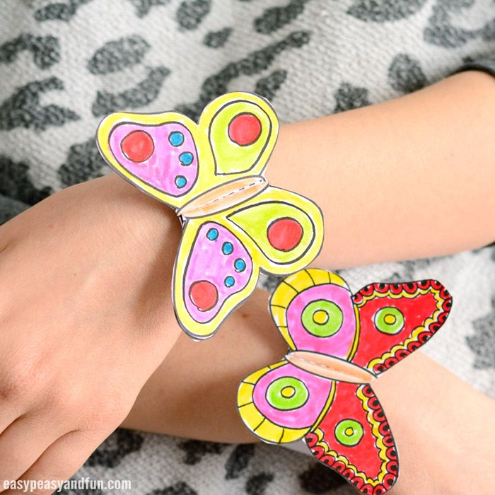 Spring is the time for butterflies and if you are looking for a fun after school (or school) activity, why not make these butterfly paper bracelets for kids! We have a printable template ready (along with simple instructions too) that kids can decorate on their own to each have their own unique project. Fun, easy …