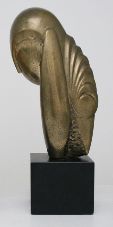 Constantin Brancusi Mademoiselle Pogany II- authrized  ltd repro | From a unique collection of antique and modern sculptures at http://www.1stdibs.com/furniture/more-furniture-collectibles/sculptures/