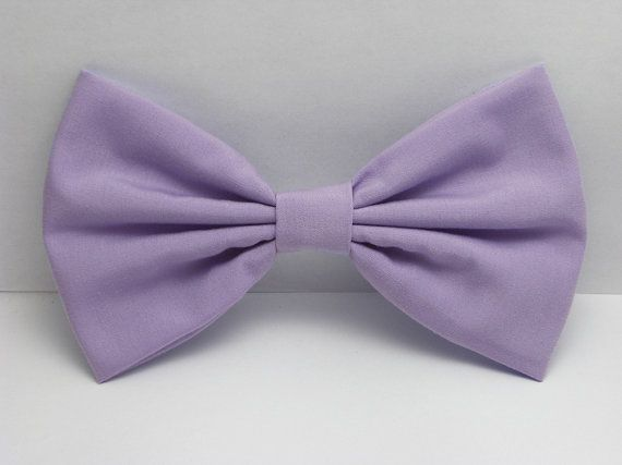 Lavender hair bow clip for woman teens and girls. Perfect for back to school fashion accessories to dress up your everyday cute and girly outfits ♥