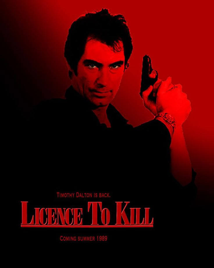 licence to kill This tv movie begins when a popular high-school girl is killed in a head-on collision by inebriated-businessman don murray facing a manslaughter charge, the well-heeled murray hires an expensive defense team, while the father of the dead girl is doggedly determined to see that murray pays for.