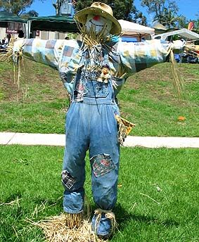 This is a great site for creating your own scarecrow...lots of ideas. I prefer a more traditional scarecrow, but this has a lot of imaginative options.