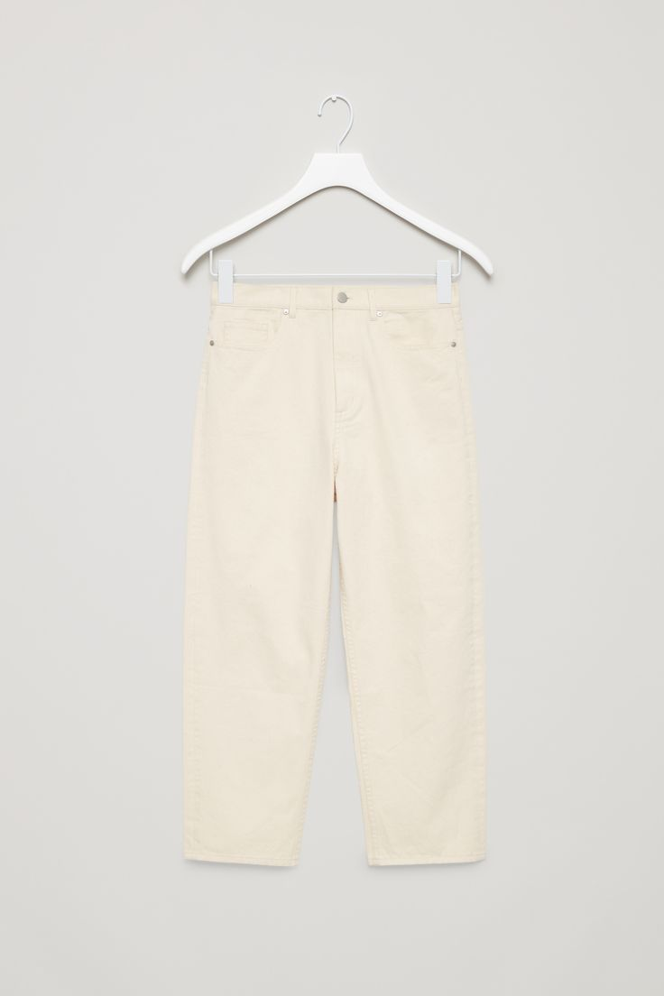 COS   Straight-fit cropped jeans