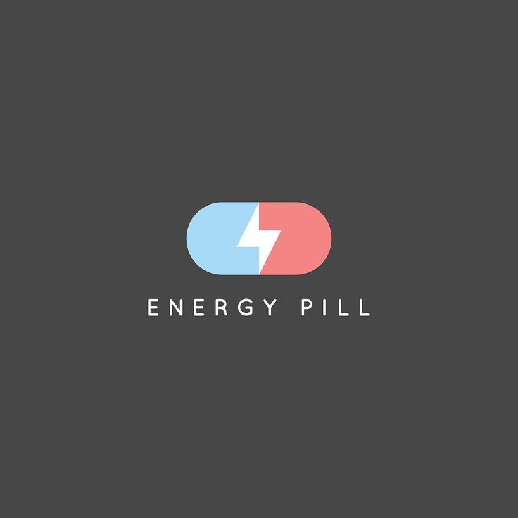 275/365: Energy Pill  Out of all the pill logos I found online not one focused on energy. Something everyone needs these days.  Really liked simplicity behind this logo's concept geometry and contrast. Let me know if you've seen this before.  #behance #dribbble #logotype #logo #quillocreative by instagram.com/quillocreative