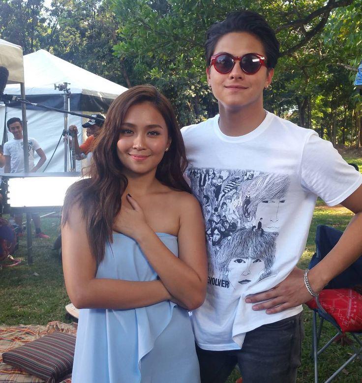 "2,672 aprecieri, 25 comentarii - Push (@pushalerts) pe Instagram: ""Ang hot talaga ng #Kathniel! We caught up with Kathryn Bernardo & Daniel Padilla at the set of…"""