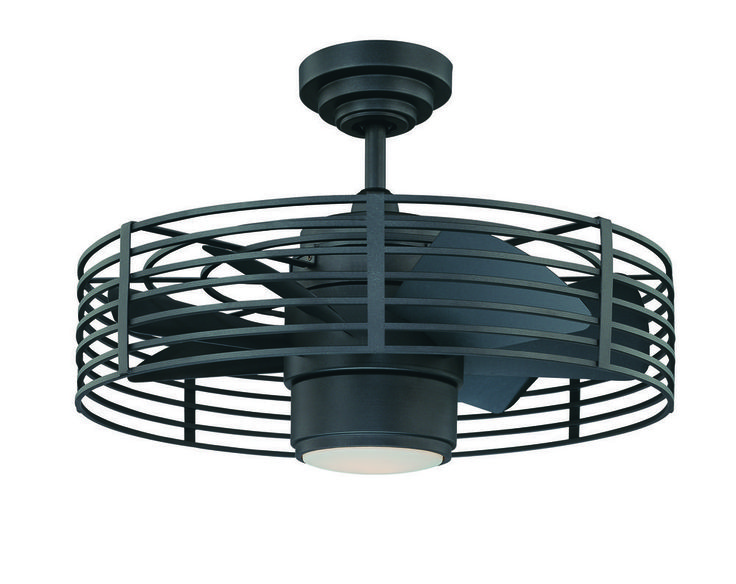 Kendal lighting enclave 23 inch ceiling fan with light kit