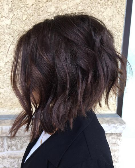 """""""Another glance at this textured cropped bob by: @christinelemoine ! #hair…"""