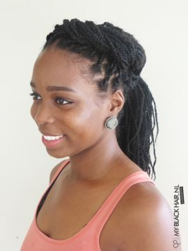 curly hair styles with braids 234 best images about braids on faux locs 2907