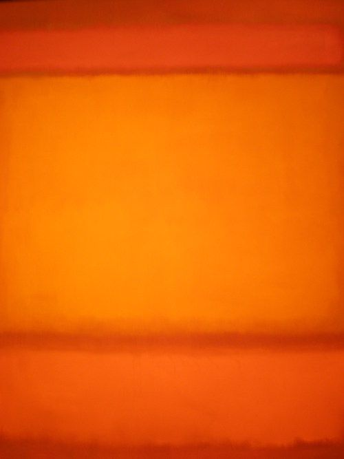 Mark Rothko 'Red, Orange, Orange on Red' 1962  https://www.artexperiencenyc.com/social_login/?utm_source=pinterest_medium=pins_content=pinterest_pins_campaign=pinterest_initial