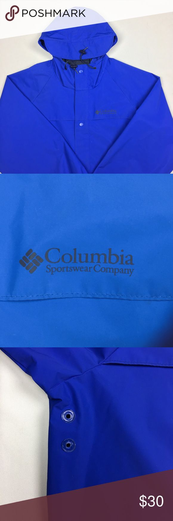 Columbia Men's Blue Raincoat Used in Excellent Condition/ No Trades/ No PayPal/ Smoke & Pet Free Home/ Offers welcome/ Please Ask Questions! Columbia Jackets & Coats Raincoats