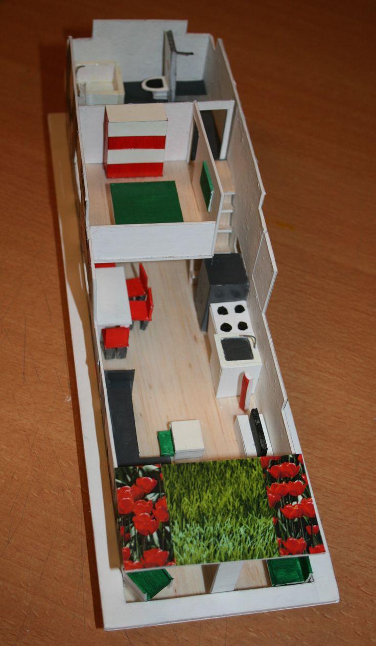 Houseboat Floating Home Cibap School for interior design