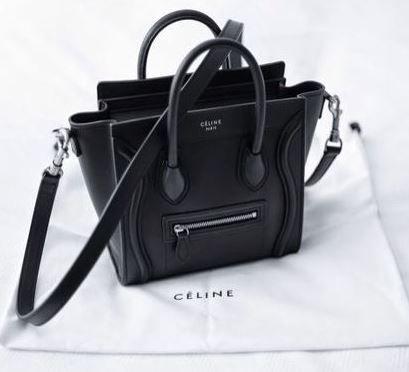 Céline nano Luggage Tote  |  pinterest: @Blancazh