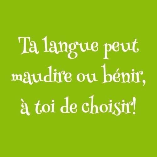 Que choisis-tu?  #Langue #paroles #parole #bénir #maudire #encourager #choix #louer #louange #gentil #méchant