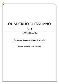 Gli ultimi quadernoni di classe V della maestra Patrizia