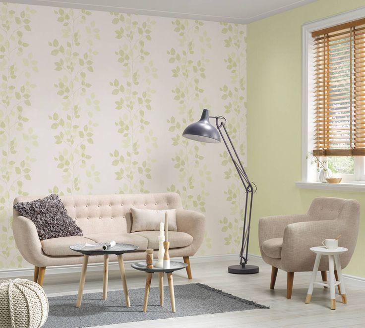 Die besten 25+ Grüne tapete Ideen auf Pinterest Mustermix, Palme - wohnzimmer braun grun weis