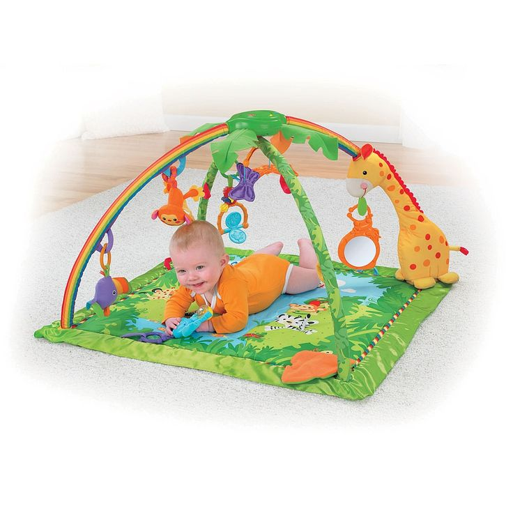 Fisher price melodies lights deluxe gym on our babies - Tapis d eveil fisher price zoo deluxe ...