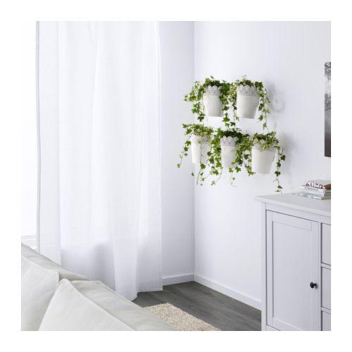 skurar blumentopf mit halter ikea stuff. Black Bedroom Furniture Sets. Home Design Ideas