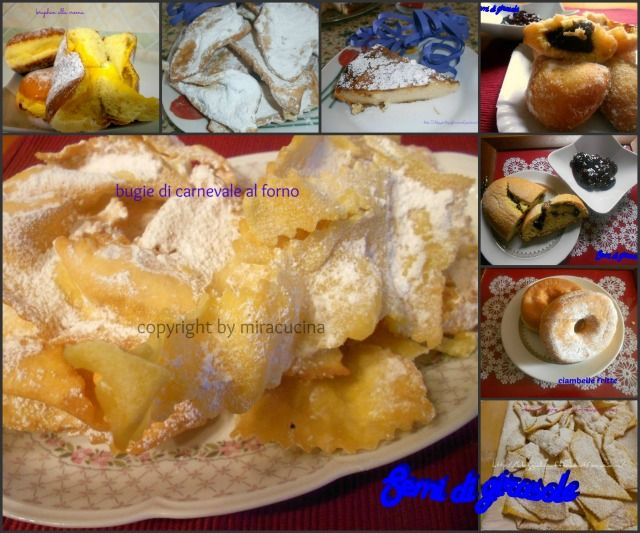 Raccolta ricette di Carnevale by miracucina