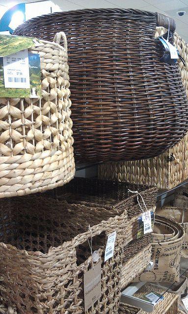 Local Client Sourcing for - Online Design / her to DIY - Kim Bedroom Project - @homegoods  8.2013 - Plenty of basket storage options for bathroom available at #HomeGoods | Flickr